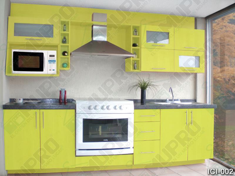 Mupro closets y cocinas integrales cocinas for Muebles cocina chica