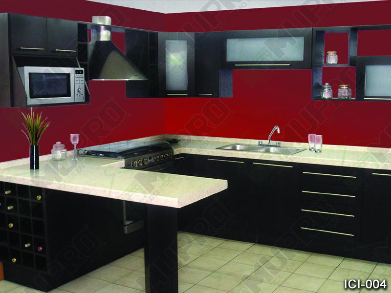 Mupro closets y cocinas integrales cocinas for Medidas estandar de cocinas integrales