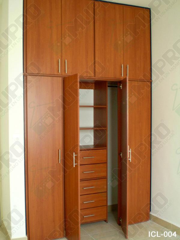 Mupro closets y cocinas integrales closets for Fabrica de closet