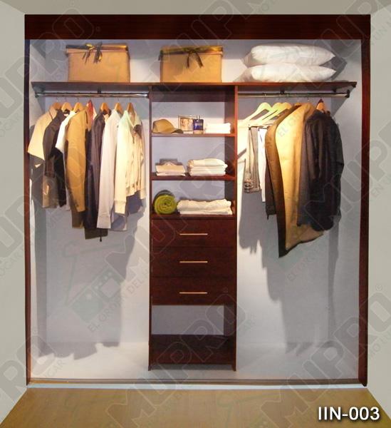 Mupro closets y cocinas integrales interiores for Closets interiores