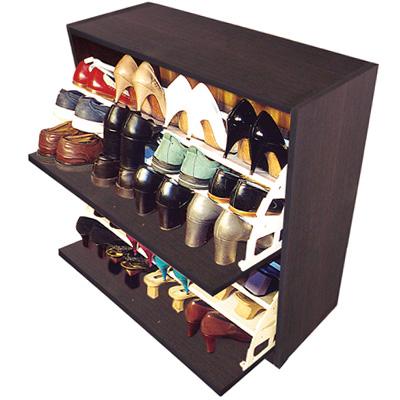 Mupro closets y cocinas integrales zapatera para 24 for Zapateras para closet madera